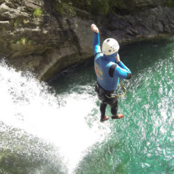 Canyoning Sprung Bodengo