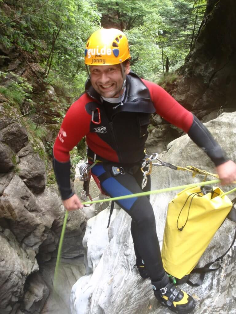 Canyoning Jonny Stand