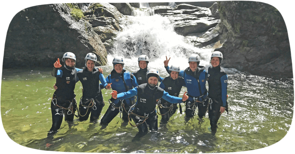 Blogpost - Canyoning in Coronazeiten