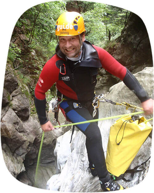 Dein Canyoning und Rafting Guide - Jonny